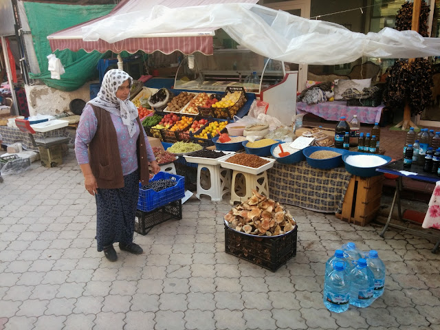 Local fruit markets of Turkey
