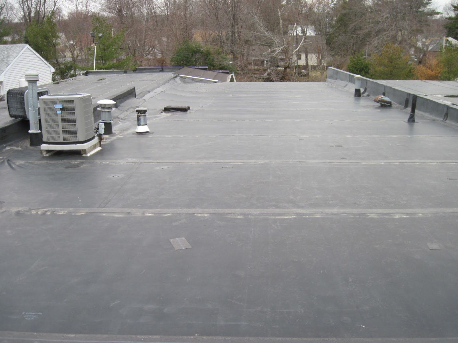 commercial flat roof inspection in berlin connecticut connecticut