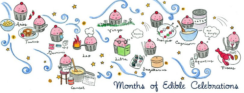 Months of edible celebrations