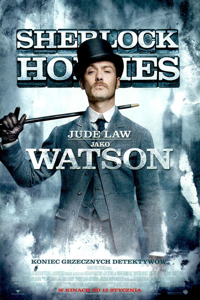 Ulotka filmu 'Sherlock Holmes (przód - wersja C)'