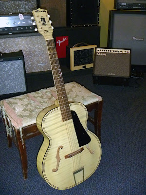 wood wire guitar shop blog harmony acoustic archtop. Black Bedroom Furniture Sets. Home Design Ideas