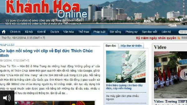 """Clip """"nóng"""" sự vụ """"bê bối tình dục"""" của Đại Đức Thích Chúc Minh ở Khánh Hòa: Video clip đã bị cắt ghép?"""