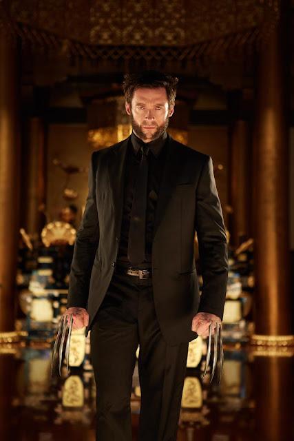 The Wolverine Black suit Adamantium claws