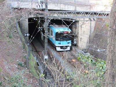 逢坂山トンネル : 京阪電車 大津線 の日常