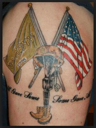 30 very best military tattoos designs and suggestions tattoos ideas k. Black Bedroom Furniture Sets. Home Design Ideas