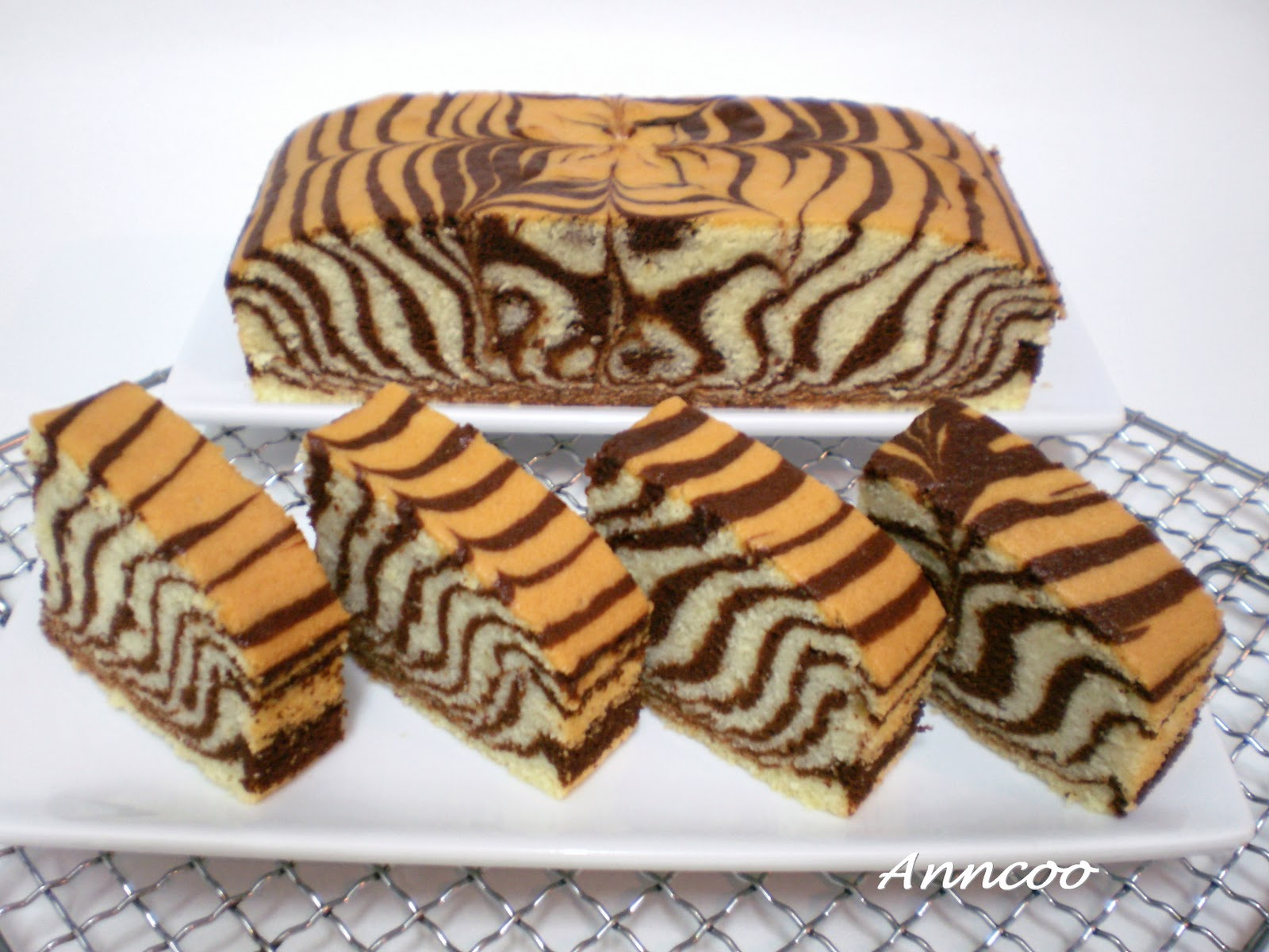 Zebra Cake Recipe Video