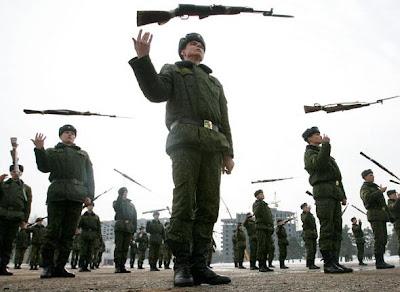 l'armée russe, cette bande de déconneurs
