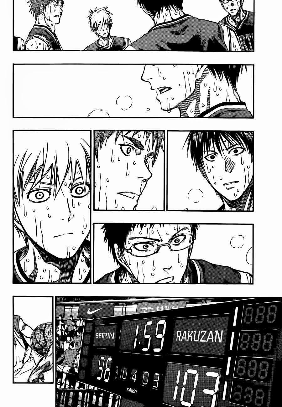 Kuroko no Basket Manga Chapter 270 - Image 03