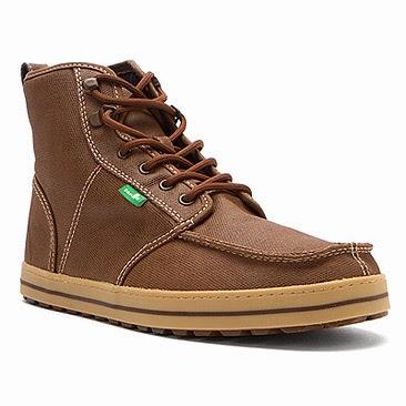 #SANUK 中筒靴SKYLINE:又輕又好穿還防撥水的上蠟靴! 1