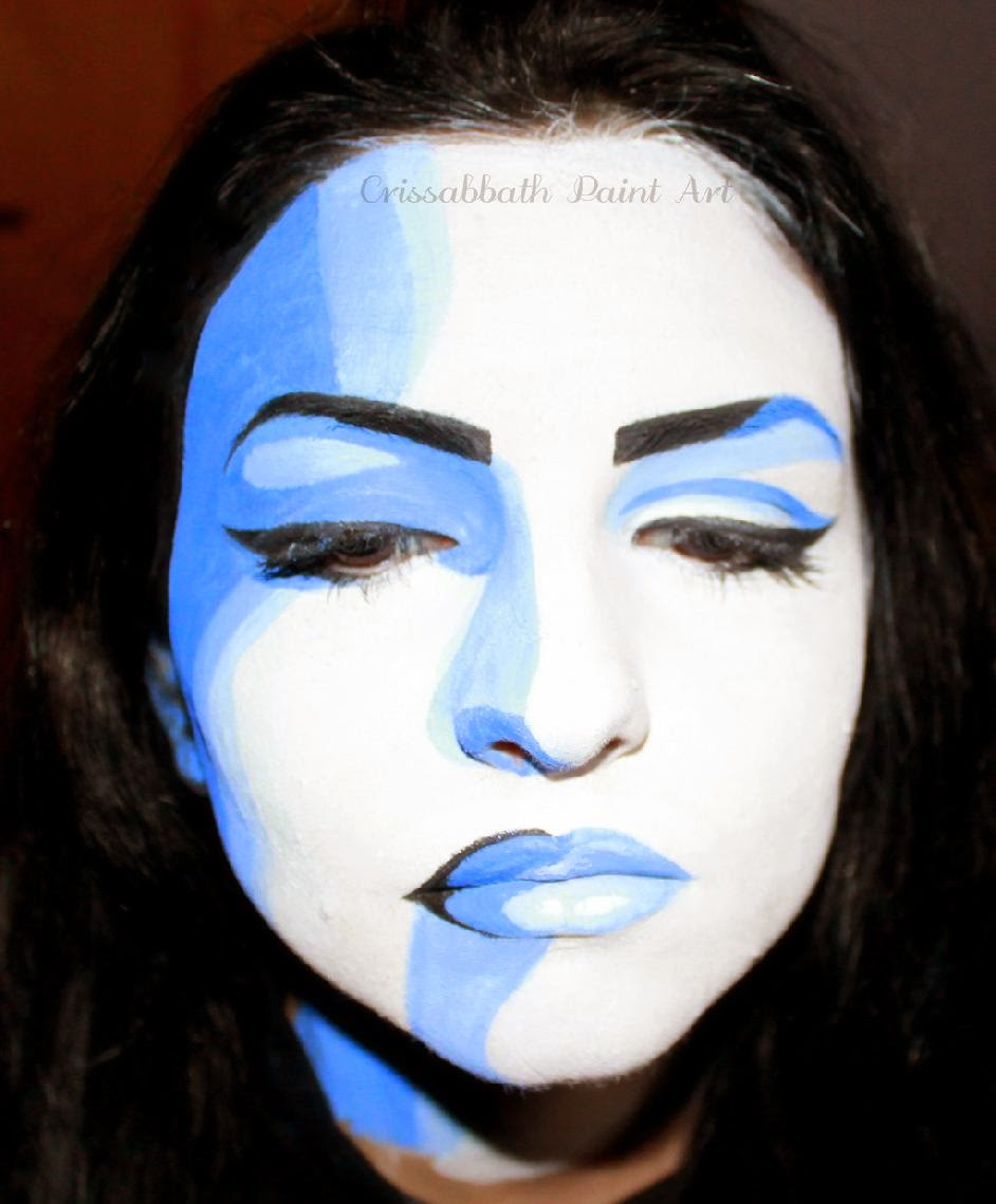 Pop Art Face Painting by CrissabbathPaintArt on DeviantArt
