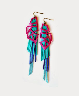Statement Earrings by Boo and Boo Factory