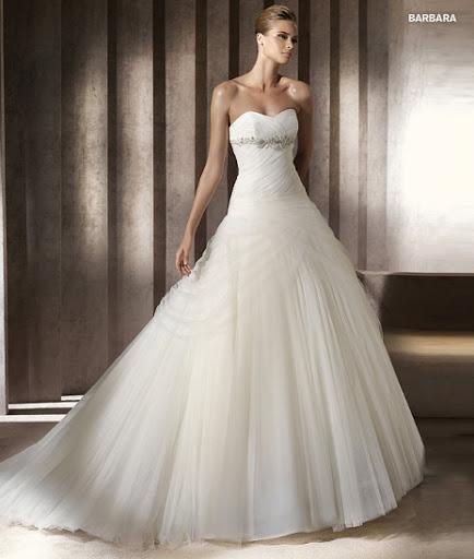 Menyasszonyi ruha 2012 Pronovias Barbara