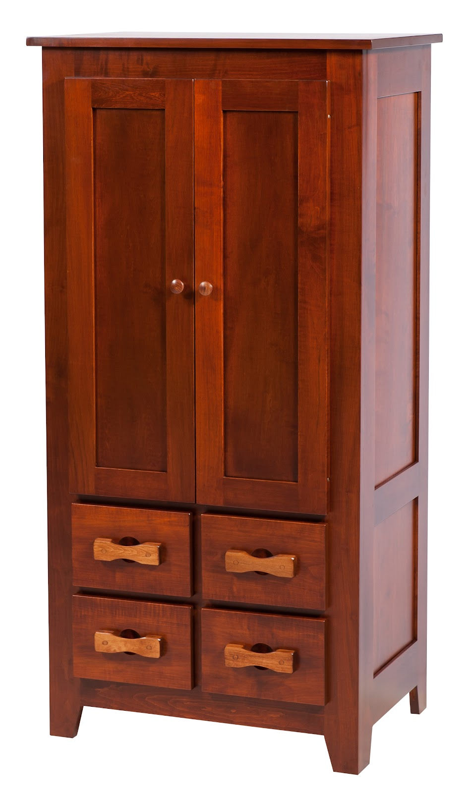 Ash Solid Wood Shaker Wardrobe ~ Shaker armoire dressers solid wood dresser in the