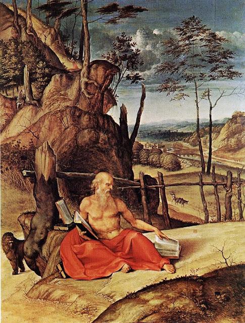 Lorenzo Lotto - Penitent St Jerome