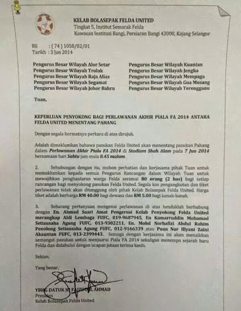 Felda Arah Peneroka Ke Shah Alam?