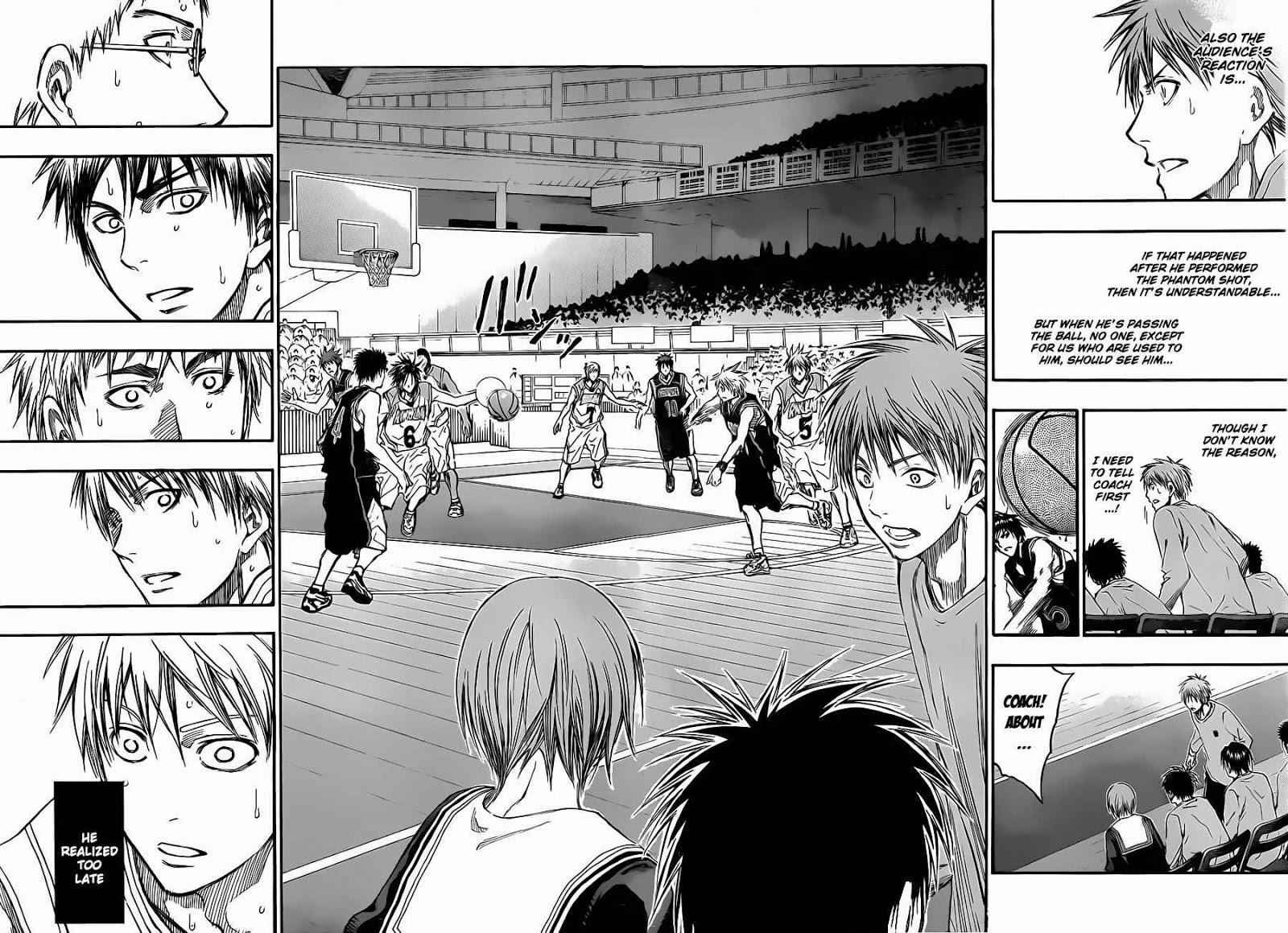 Kuroko no Basket Manga Chapter 236 - Image 13-14