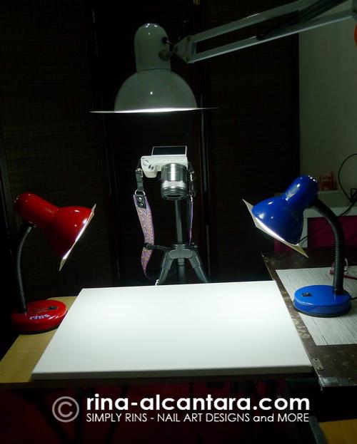 Simply Rins Photography Setup