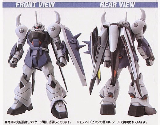 Mô hình Gouf Ignited Yzak Jule Custom HG Gundam Seed tỷ lệ 1/144