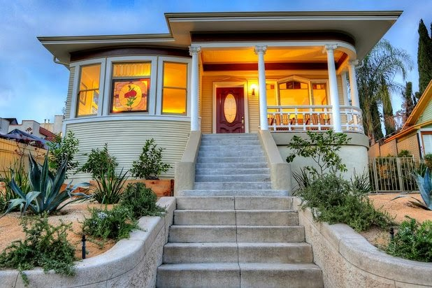 Echo Park, Angeleno Heights, homes, real estate