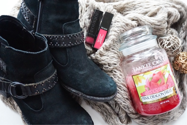Yankee Candles, Bourjois, Revlon, Marks & Spencer Boots, River Island Scarf