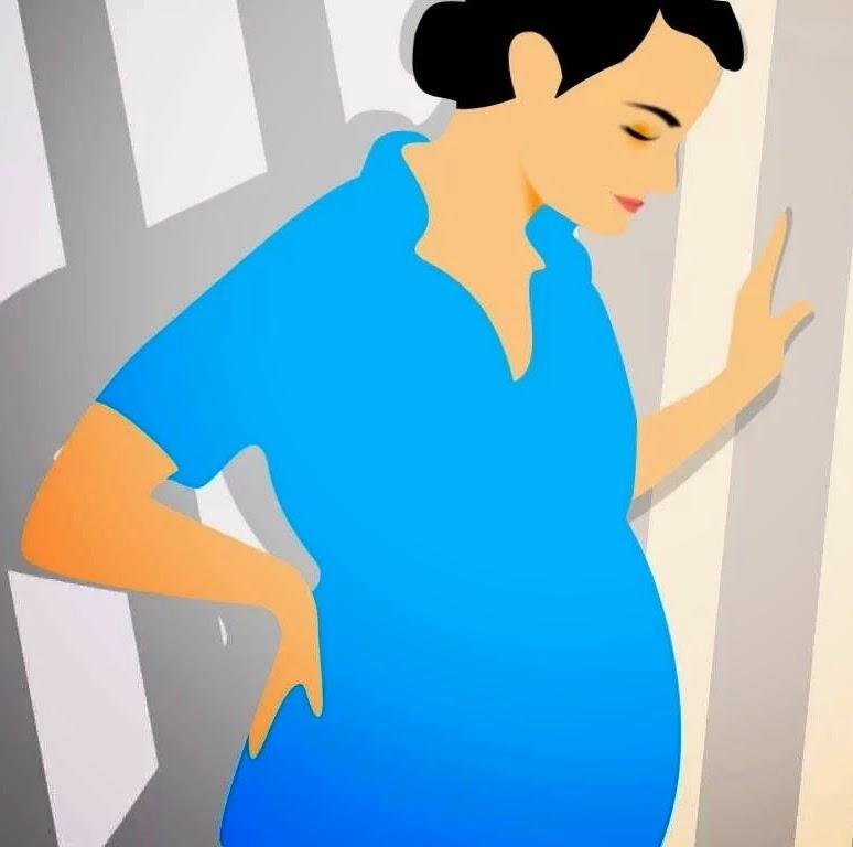 Urat simpul semasa mengandung.