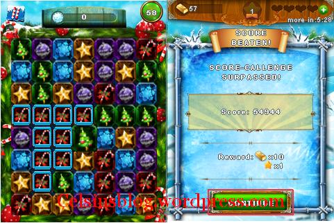 [Game Java] Tap Tap Diamond + Xmas Tap Tap Diamond [By Soft Game]