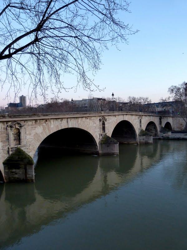 LES PHOTOS: lever de soleil sur la Seine P1080685