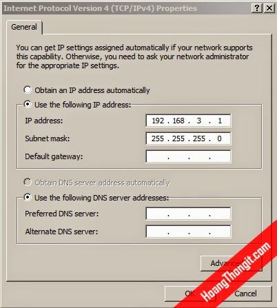 VPN Client to site (Client Access) xác thực bằng Radius Server