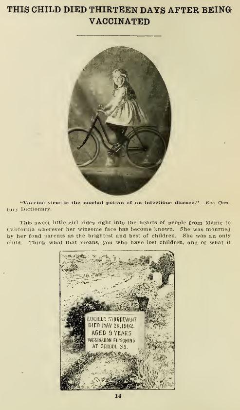 """托马斯·鲍德伦,""""一封致康涅狄格州州长和大会成员的公开信,展示了强制接种疫苗的罪恶,以及因偷猎行为而导致的某些死亡。""""康涅狄格州布里奇波特:农民酒吧出版社。1911年。"""
