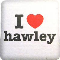 Hawley Arms coaster