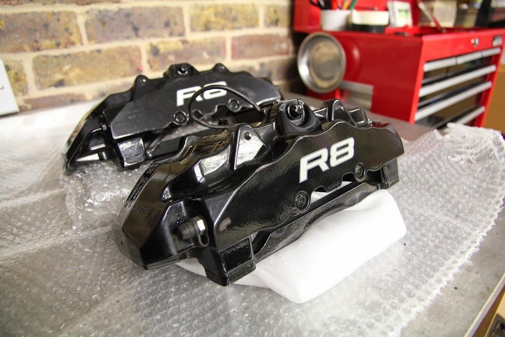 audi r8 rs4 rs6 brembo 8 piston calipers audi. Black Bedroom Furniture Sets. Home Design Ideas