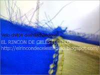 Deshilachamiento de velos, chifón y telas de tejido plano
