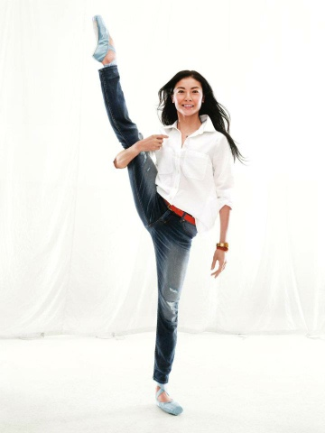 Ballet and Gap ads