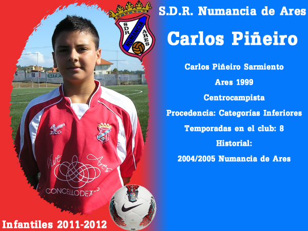 ADR Numancia de Ares. Infantís 2011-2012. CARLOS PIÑEIRO.