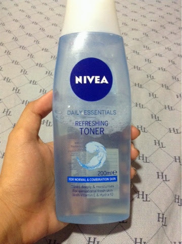 Product Review Nivea Refreshing Toner Izzaglinofull