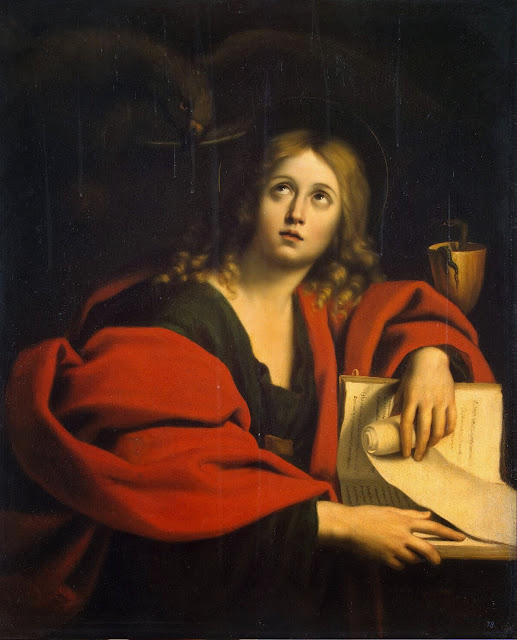 Domenichino - St John the Evangelist