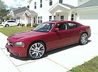 "2006 Dodge Charger RT Hemi 22"" Wheels & Hitch Red"