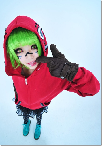 vocaloid 2 cosplay - gumi