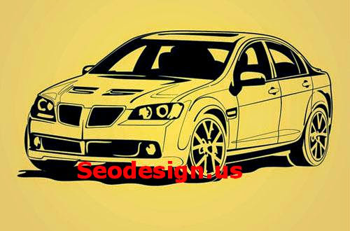 Free Car Outlines Vector Art
