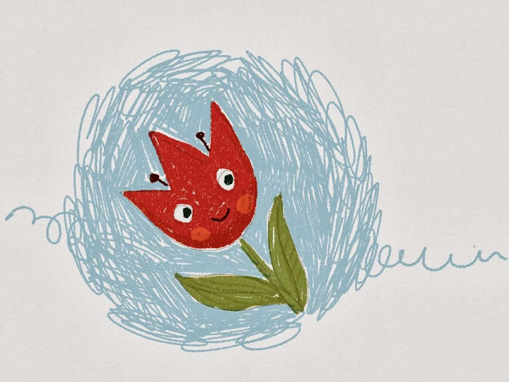 tulip made with Sketches
