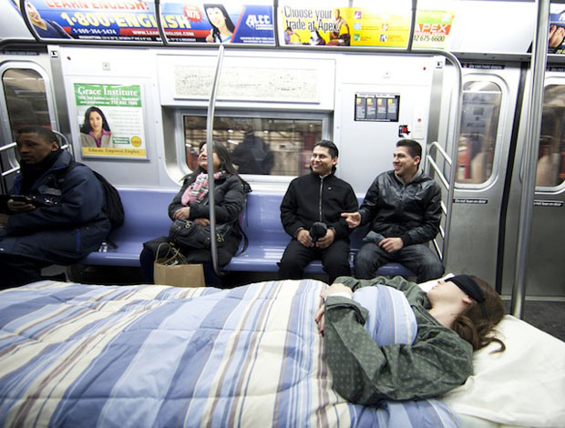The Sleeper Car by Improv Everywhere