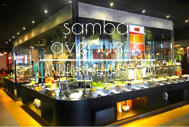 Top 5 restaurants you must visit in avenue k kl for Samba buffet
