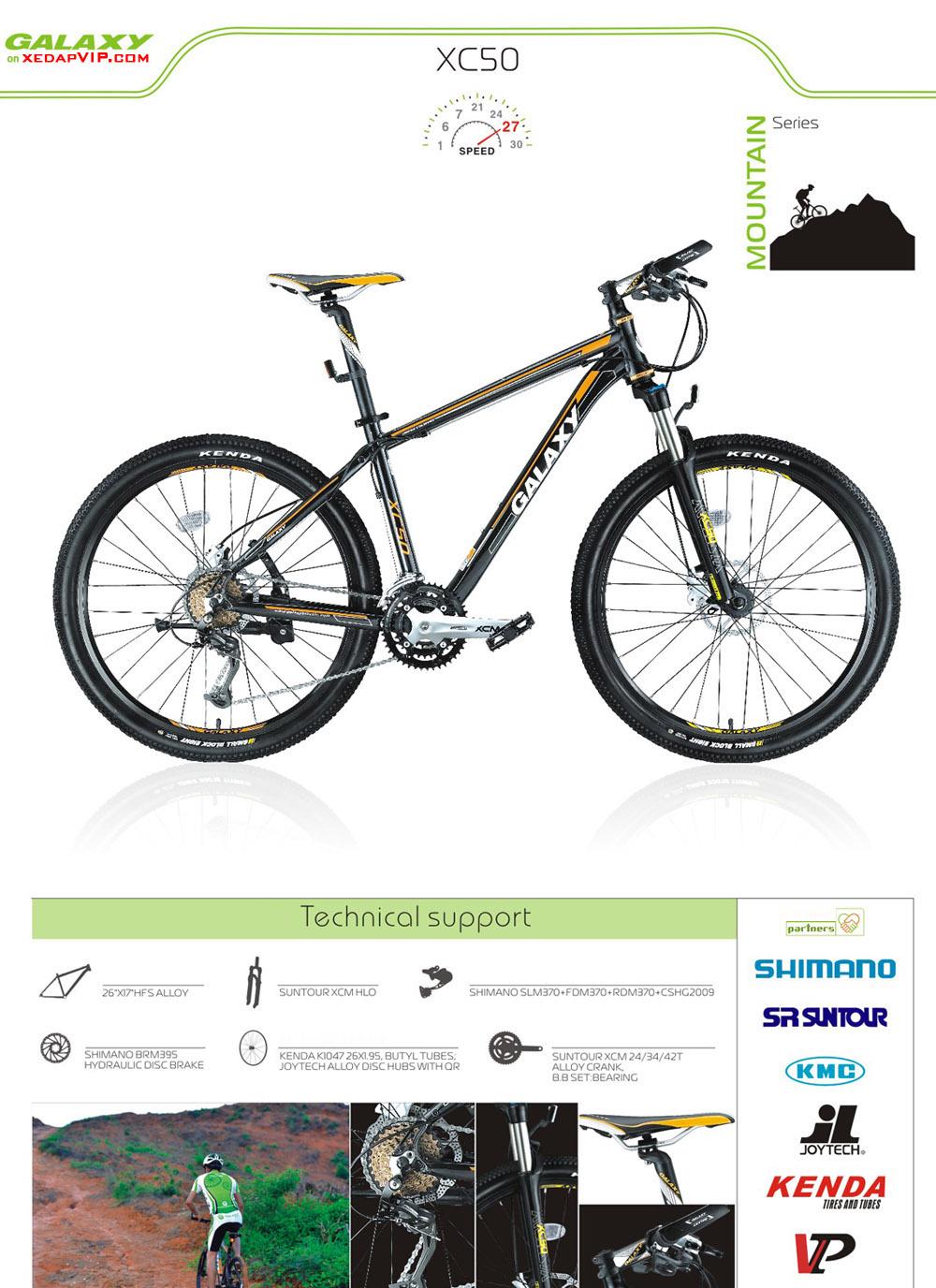 Xe dap the thao GALAXY XC50, xe dap the thao, xe dap trinx, xe đạp thể thao chính hãng, xe dap asama, xc50