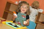 LePort Montessori Preschool Toddler Program Irvine Orchard Hills girl having fun in the classroom