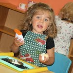 LePort Montessori Preschool Toddler Program Irvine Orchard Hills girl having fun in the classroom