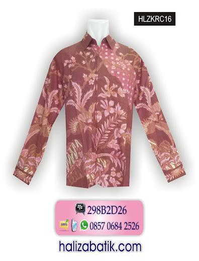 HLZKRC16 Model Hem, Model Baju Hem, Baju Hem Batik, HLZKRC16