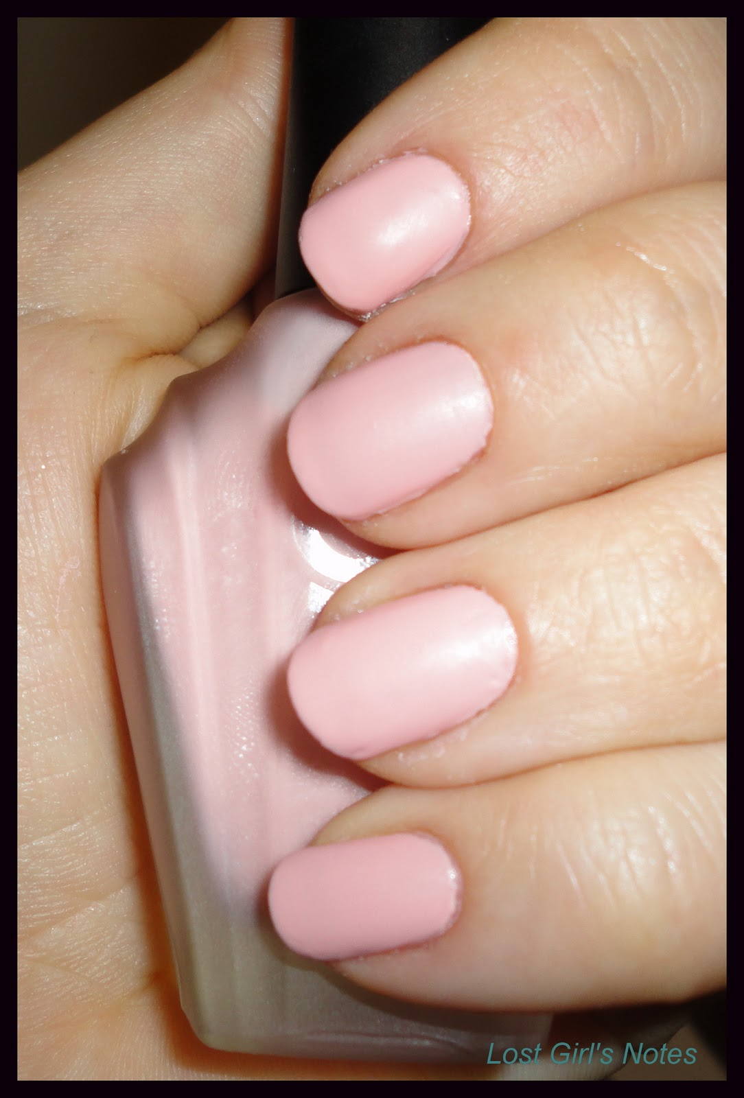 Matte Light Pink Nail Polish | Best Nail Designs 2018