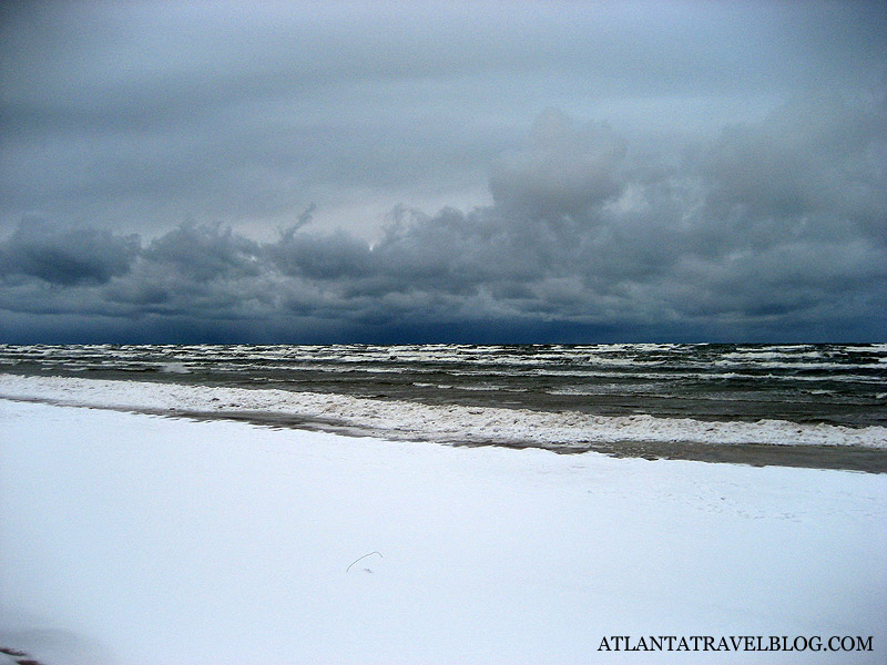 Jurmala winter