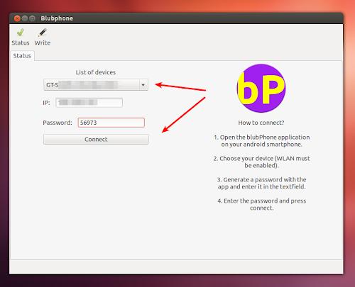 blubPhone su Ubuntu
