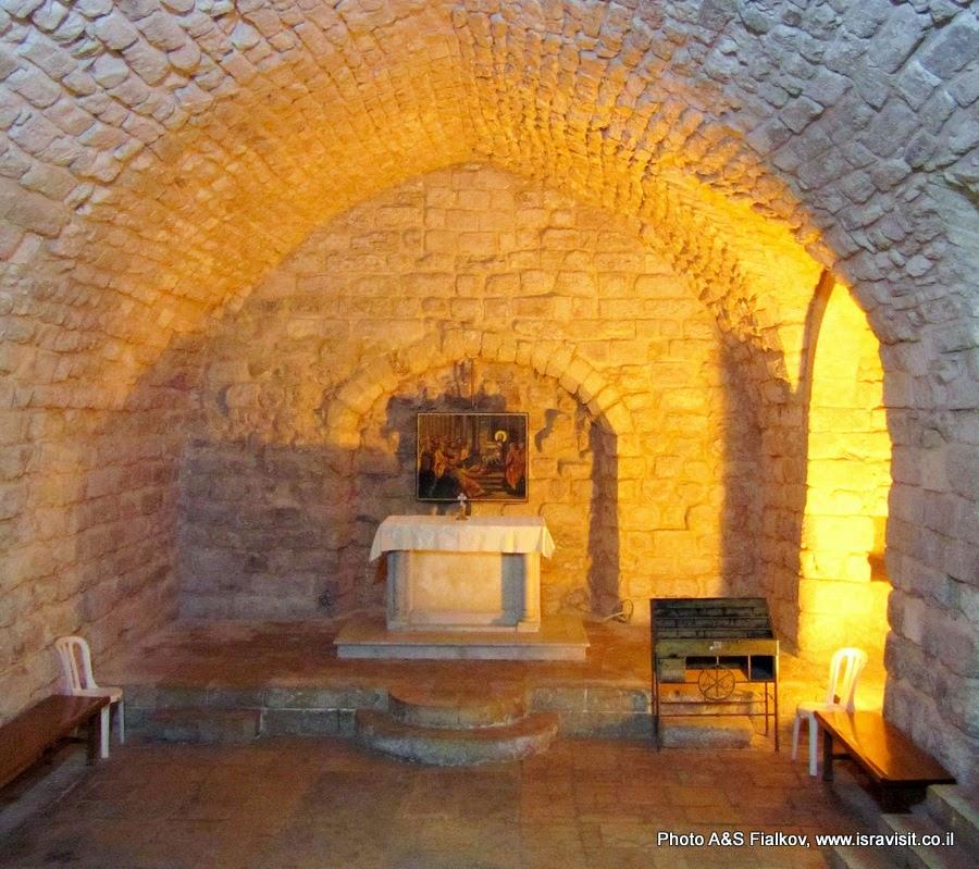 Церковь - Синагога в Назарете. Экскурсия Галилея христианская. Гид по Галилее Светлана Фиалкова.